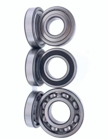 Metric deep groove ball bearing EBC 6206 sealed RS/2RS/ZZ/OPEN